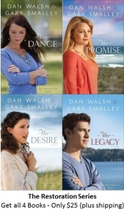 Restoration series - all 4 books for 25
