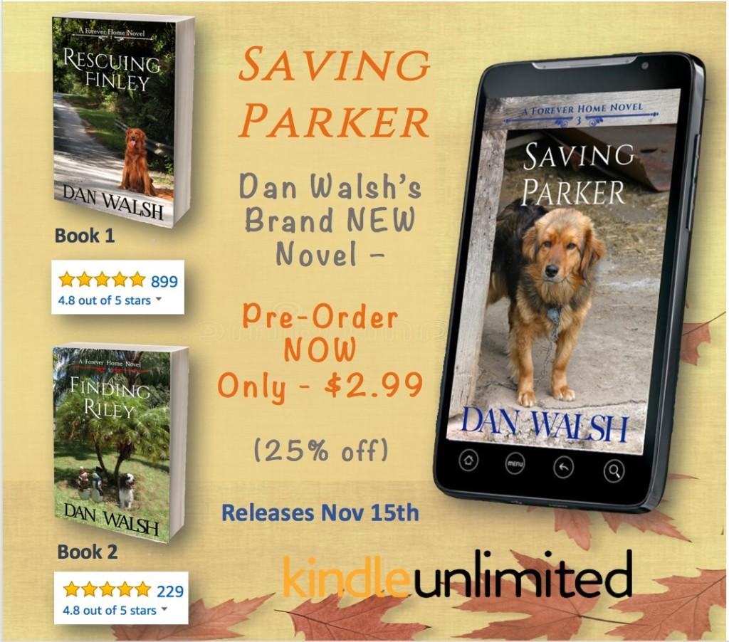 Saving Parker - Pre Order Ad 1