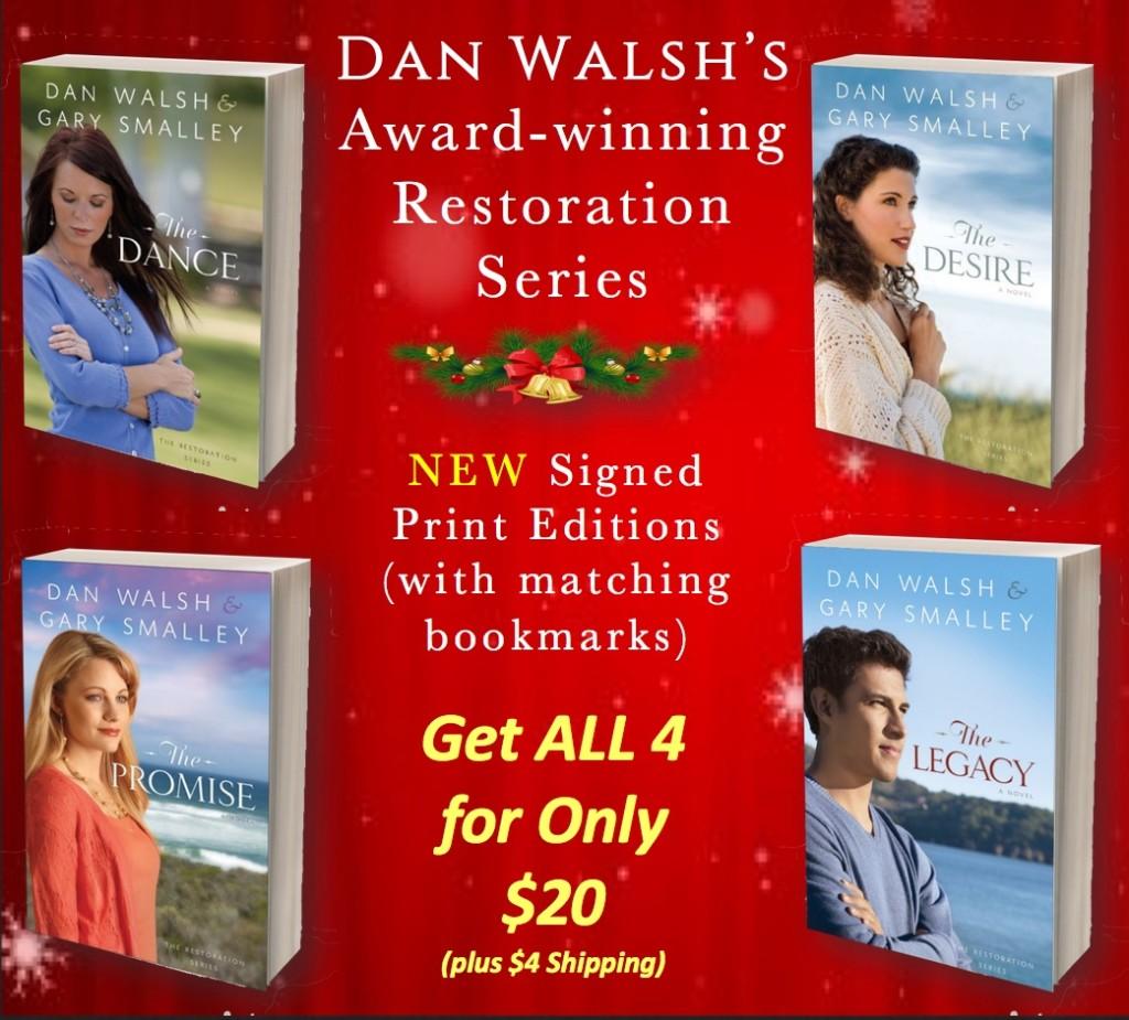 Restoration series Christmas Ad