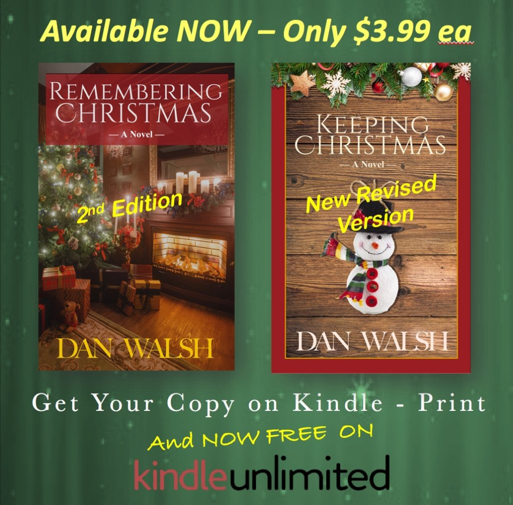 Christmas Books Available NOW (and a Favor?) | danwalshbooks.com